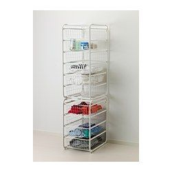 Algot Frame And Wire Baskets Ikea For The Entry Closet To Organize Hats Gloves