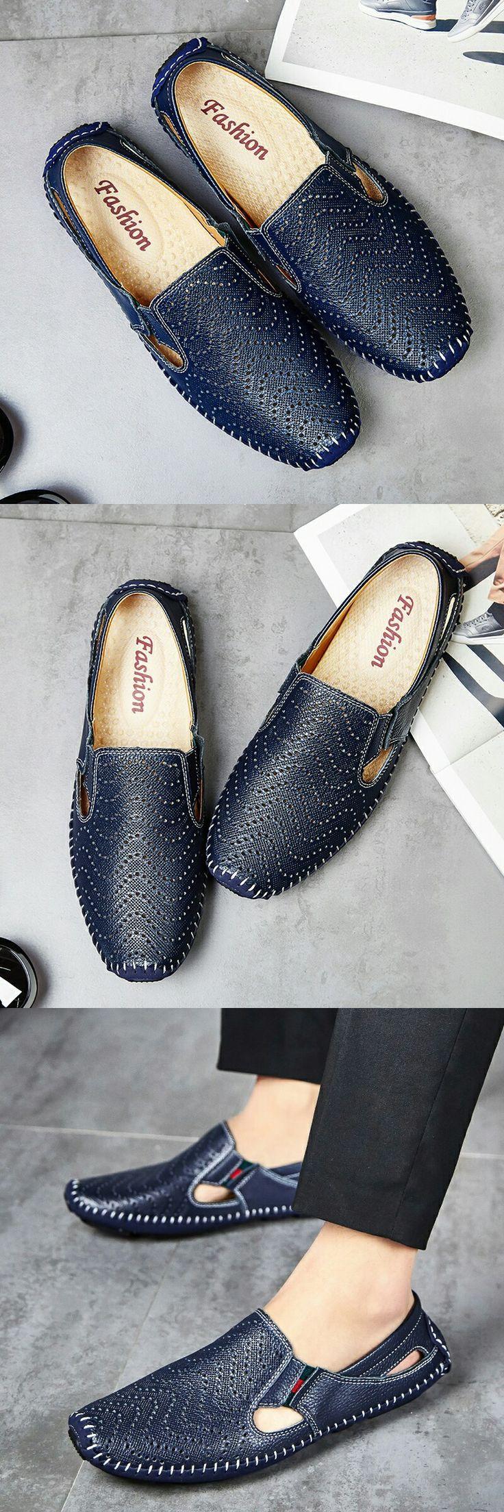 Большой Размер Мужчины Вождения Обувь Из Натуральной Кожи Хорошего Качества Мягкие Мужчины мокасины Удобные Коричневый Желтый Синий Белый Плюс Размер 45 46 47