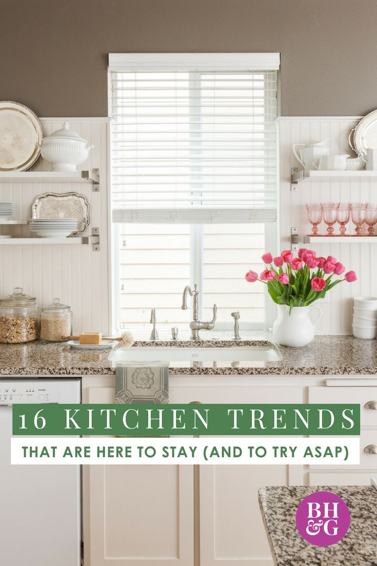 If you LOVE the new kitchen trends but are hesitating to remodel because they might go out of style quickly, you need to find out which of these styles are here to stay. We're sharing timeless ideas that will be in style for years to come! #homedecor #kitchen #remodel