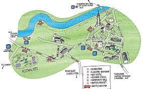 Beacons Festival Map