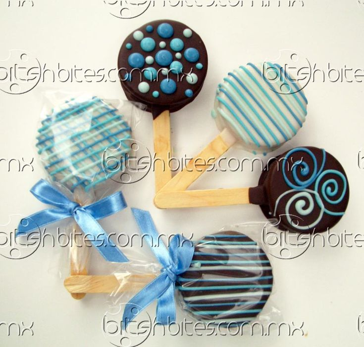 Alfajores chocolate dulce colores decorados