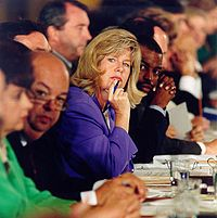Parents Music Resource Center (PMRC)-- was an American committee formed in 1985 with the stated goal of increasing parental control over the access of children to music deemed to have violent, drug-related or sexual themes via labeling albums with Parental Advisory stickers. The committee was founded by four women: Tipper Gore, wife of Senator and later Vice President Al Gore; Susan Baker, wife of Treasury Secretary James Baker; Pam Howar, wife of Washington realtor Raymond Howar; & Sally…