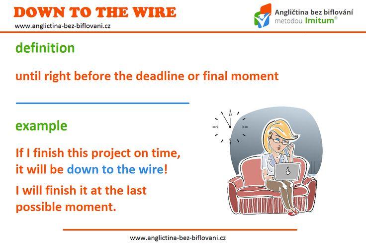 """Anglický idiom """"down to the wire"""" má v češtině svůj ekvivalent v podobě známého """"za 5 minut 12"""". 🕚 Doufáme tedy, že dnes nic podobného v souvislosti s pracovními úkoly nezažíváte.👍 Přejeme všem pohodový a prosluněný víkend...☀ #idioms #weekend"""
