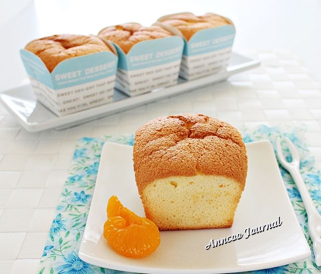 Orange muffins without butter
