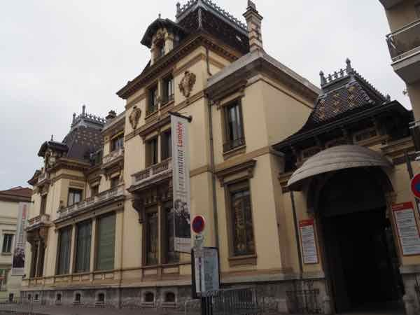 Institut Lumiere, Lyon (J. Chung). Don't miss the Lumière Museum in Lyon, France. It's dedicated to the two Lumiere brothers who brought cinema to the world in the late 1800s. http://www.francetraveltips.com/celebrating-cinema-lumiere-museum-lyon/