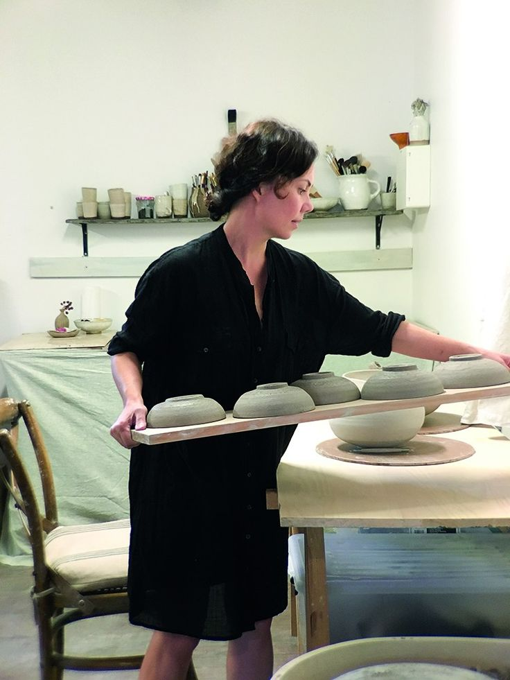 It was a simple desire to make herself a bowl that ignited in Anna-Karina a now long-held passion for ceramics