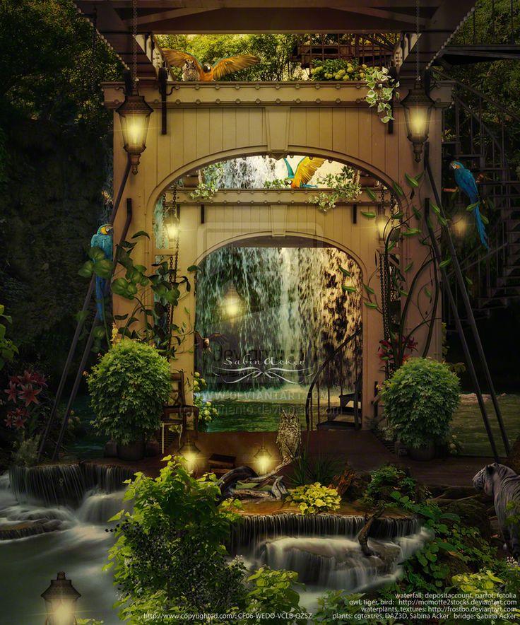 A dreamful place in the jungle by vidimento.deviantart.com on @deviantART