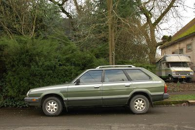 I had a 1981 Subaru 4x4 wagon.... The suspension was adjustable, (I cranked it all the way up) explored every unpaved trail I could find! It took me over hills and under  malls! It was great fun!  This was the fourth car that I owned at the time, and the first car that I had to have financed.... My mother insisted that I get something reliable..... tired of my old Fiat and Saabs breaking down I guess! Yeah, I had to put a transmission in that Subaru....