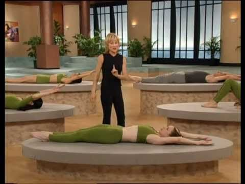 Winsor Pilates - the absolute BEST core workout.  I did a Winsor Pilates class at the Y in high school almost identical to this...once a week for 6 weeks and my abs were rock solid.  Make sure you throw in some supermans and a couple other lower back exercises though - essential to strengthen front AND back.
