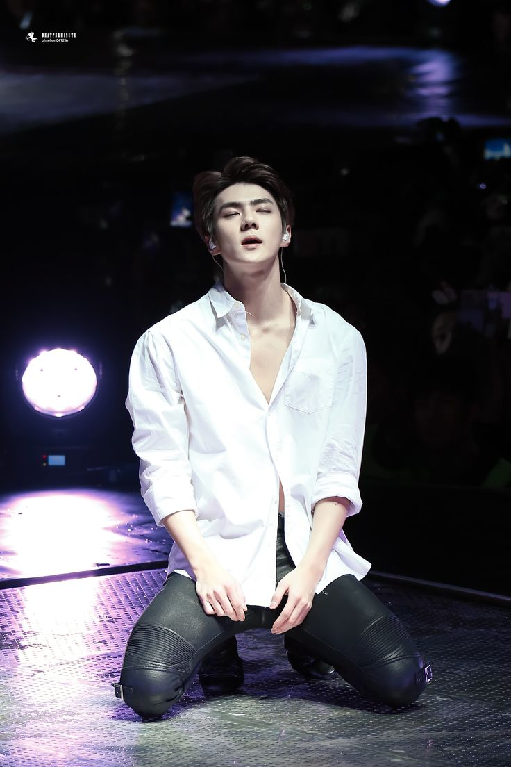 EXO'luXion 151212 : Baby Don't Cry - Sehun (9/14)