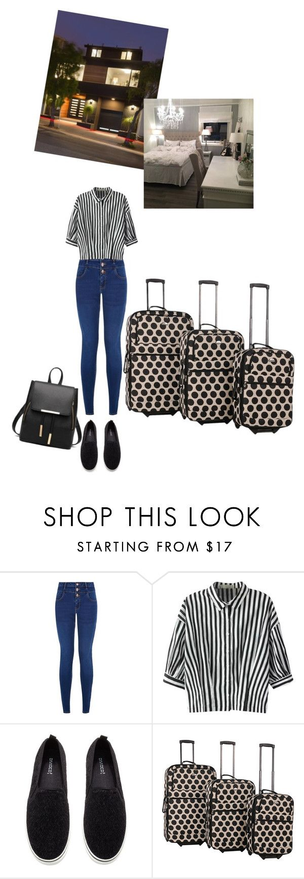 """Welcome to home"" by medicicapetiens ❤ liked on Polyvore featuring New Look, Relaxfeel, H&M and American Flyer"