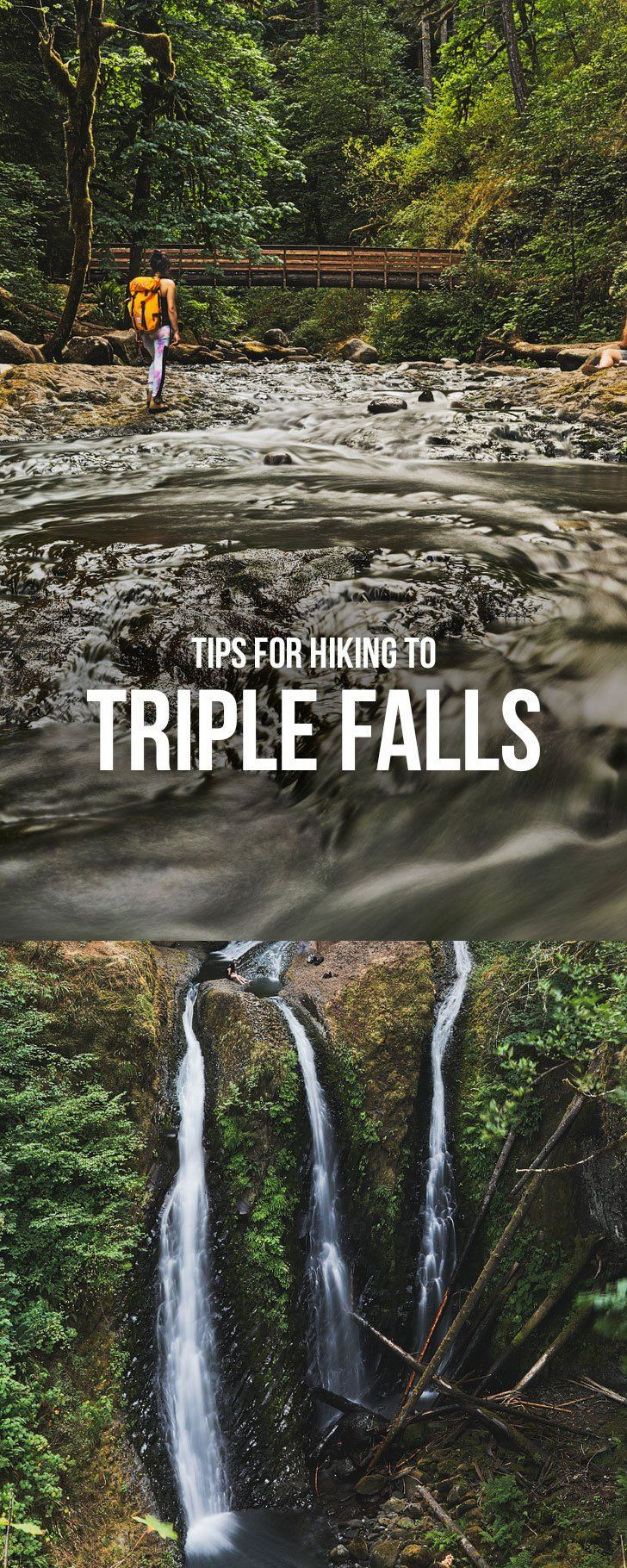 The Stunning Triple Falls Hike in the
