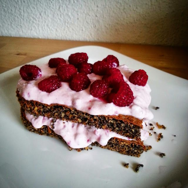 My Pink Runningshoes: Backe, backe Kuchen! Lowcarb Mohnschnitten