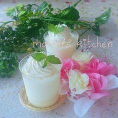 材料3つ♡美味しい練乳のブラマンジェ