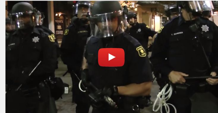 This is What Tyranny Looks Like: A Protest of Police Brutality Met with Disgusting Police Brutality