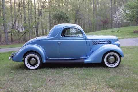 1936 ford 3 window coupe w gm 350 4bbl v8 th350 auto for 1951 plymouth 3 window coupe