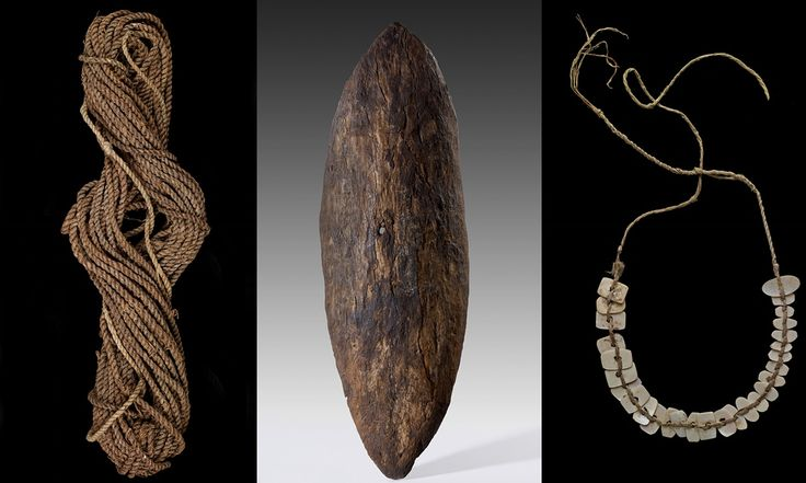 The National Museum of Australia's show of Indigenous Australian objects is a museological minefield, raising questions about why they cannot stay in the country from which they were taken