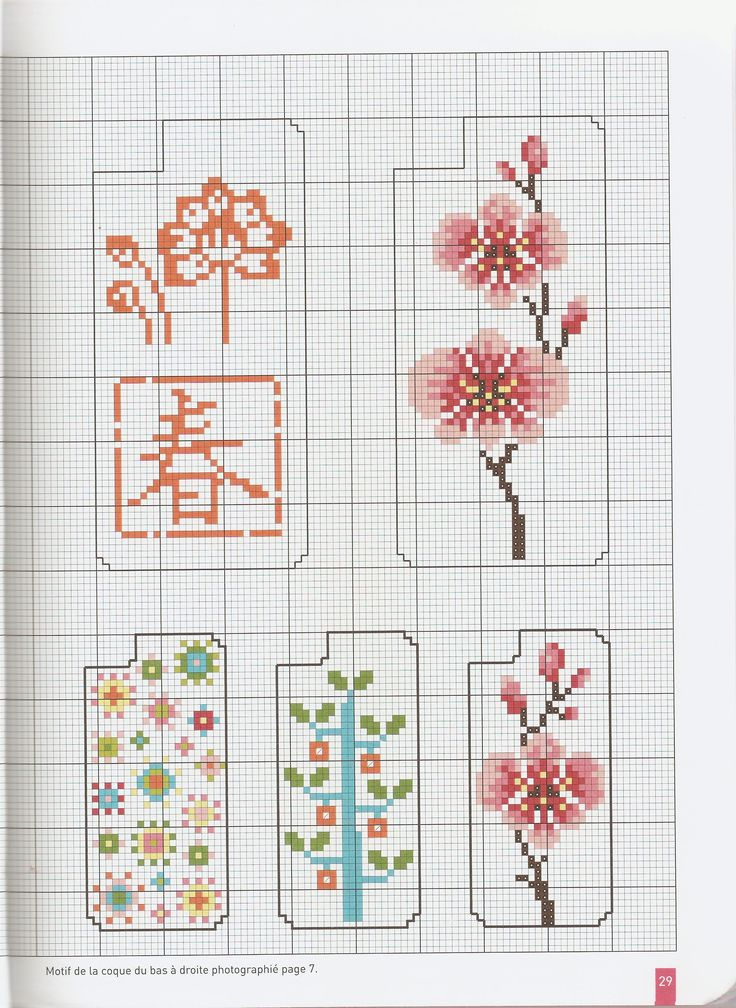 iPhone cross stitch patterns
