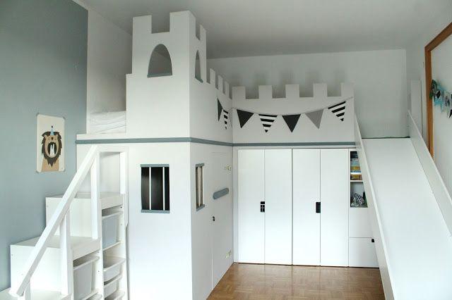 Ein Neues Ritterzimmer Fur Little L Mit Einem Ikea Hack Fur Ein