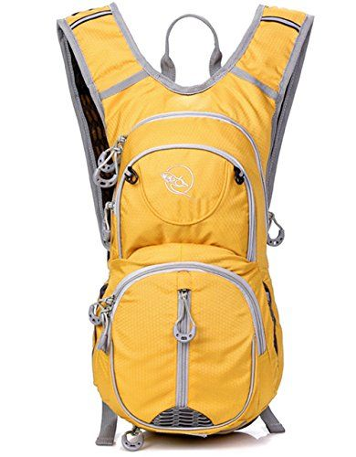 HUALIN Men's,Women's,Young People,Younger,Boy's,Girl's Backpack Travel Bag Hiking Bag Yellow Nylon  - Click image twice for more info - See a larger selection of kids hiking day back packs at   http://kidsbackpackstore.com/product-category/kids-hiking-daybackpacks/ -  kids, juniors, back to school, kids fashion ideas, school supplies, backpack, bag , teenagers,  boys, girls  gift ideas,school bag,outdoor, travel