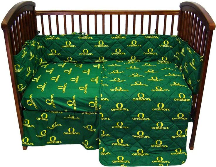 Oregon 5 piece Baby Crib Set - ORECS by College Covers