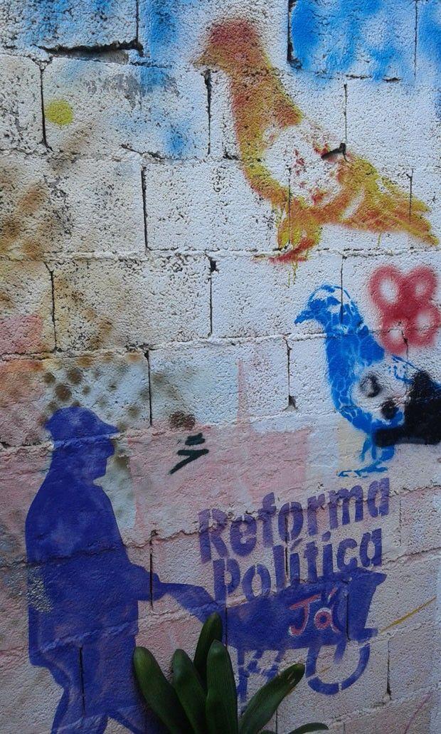 Grajaú: 100% grafite (Foto: Augusto Lins Soares)