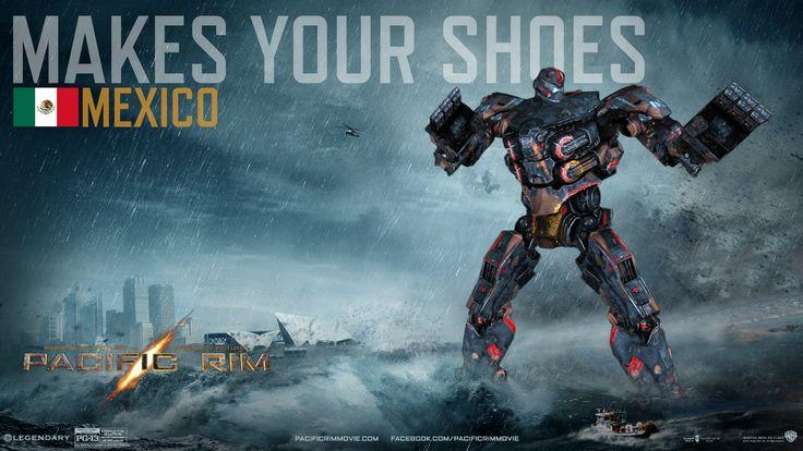 pacific rim jaeger makes your shoes