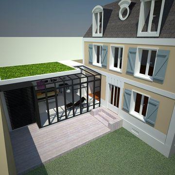 Projet 2 : Extension pour un nouvel espace séjour