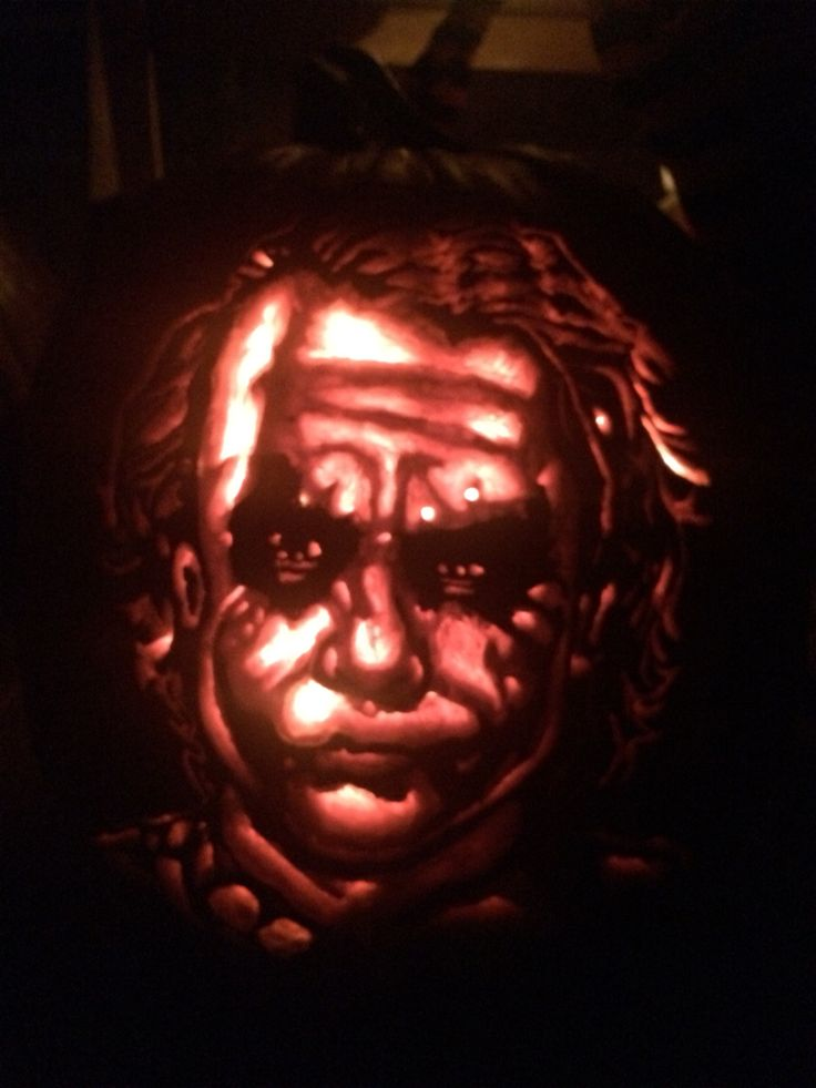 The Joker Pumpkin Carve
