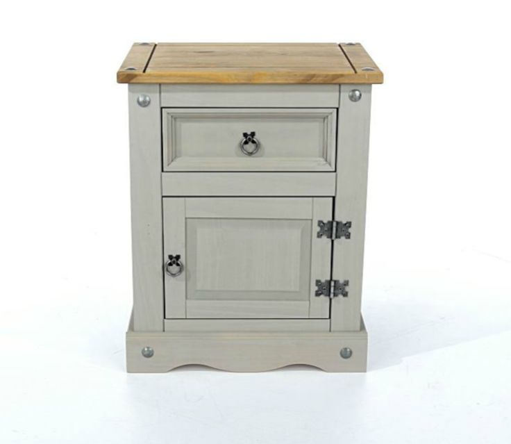 Brand new item Corona Painted 1 ... available to buy at http://discountsland.co.uk/products/corona-painted-grey-bedside-table?utm_campaign=social_autopilot&utm_source=pin&utm_medium=pin. Get #discounts on #furniture #homedecor
