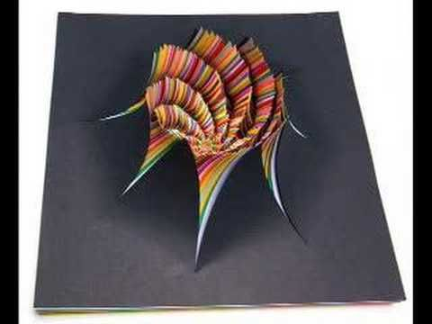 Best PAPER ART Images On Pinterest Paper Mirror And Molde - Mesmerising hand crafted paper sculptures jen stark
