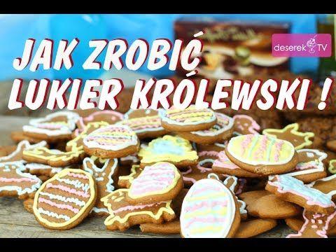 Jak zrobić Lukier Królewski przepis od Deserek.TV