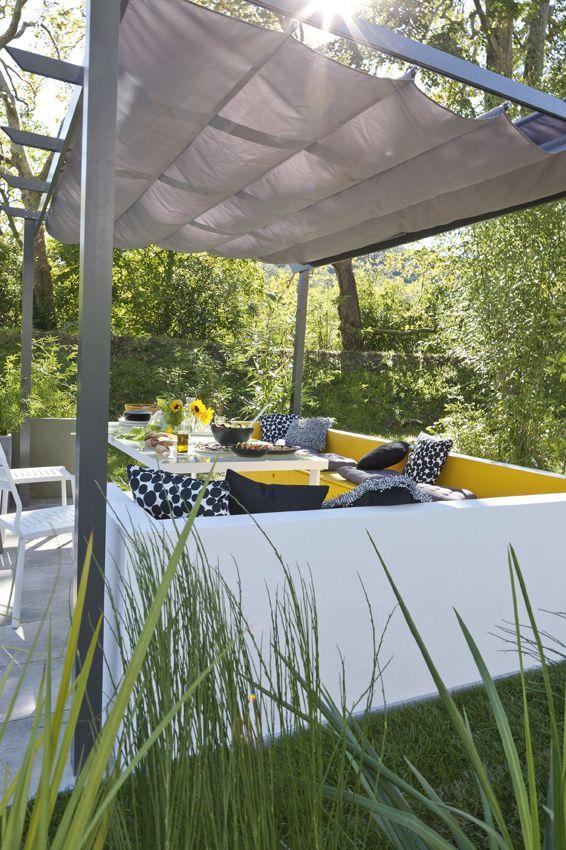 les 247 meilleures images propos de jardin sur pinterest pi ces de monnaie terrasse et pipi. Black Bedroom Furniture Sets. Home Design Ideas