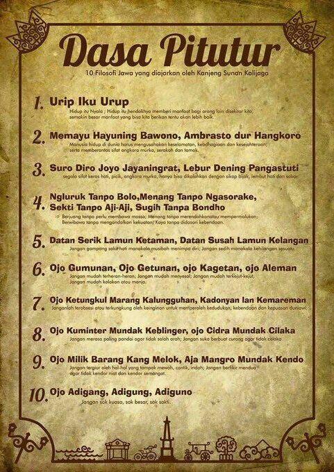 10 #Filosofi Jawa