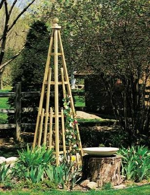 How to Make a Pyramid Trellis