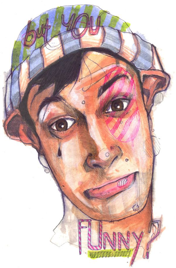 I like this mixed style - water colors + biro + pencil + pantone - by Jari Di Benedetto.