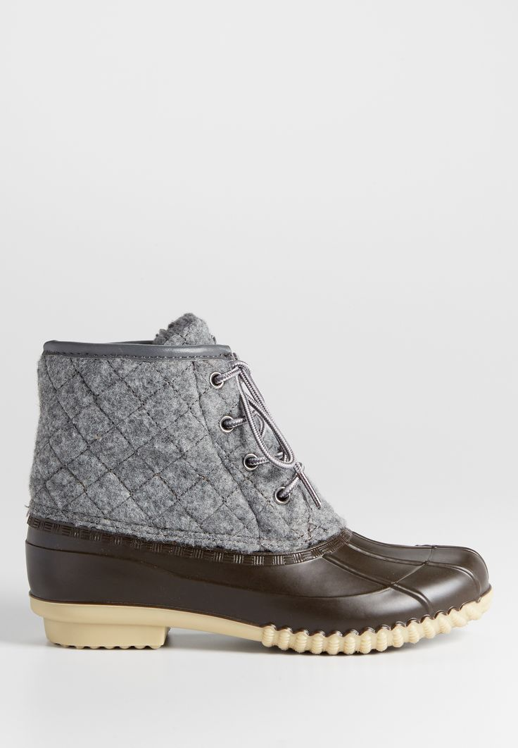 Nola quilted duck boot