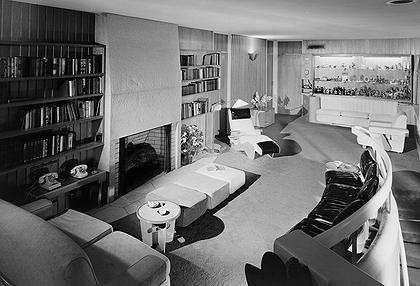 1940 - The Robert and Cecelia Frank Residence by W. Gropius    I'd imagine a certain character with a residence like this one :)