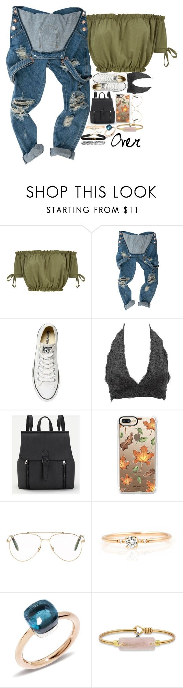 """Over it//Read the D⬇️"" by smokey-in-the-stars ❤ liked on Polyvore featuring Converse, Charlotte Russe, Casetify, Victoria Beckham and Pomellato"