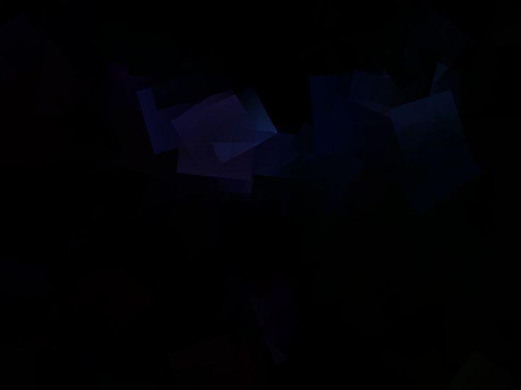 Background blue black.