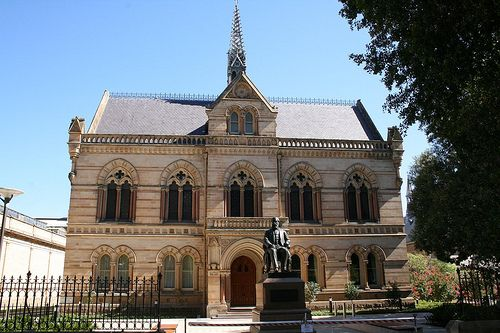 The Mitchell Building, University of Adelaide: Adelaide, South Australia by Graham the Nature Boy, via Flickr