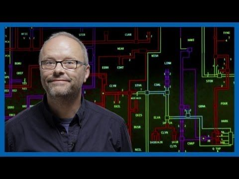 The National Grid is a high-voltage electric power transmission network, connecting power stations and 340+ substations ensuring supply and demand is in the balance. Nigel Williams speaks to Robert Llewellyn about how the National Grid works in Great Britain, and what challenges it faces with the rapidly changing world.