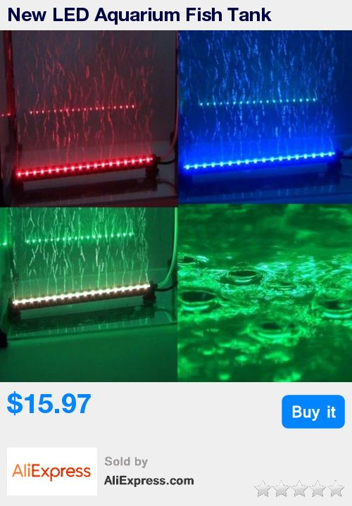 New LED Aquarium Fish Tank Waterproof LED Light Bar Submersible Down Underwater LED Lighting 18LEDs 46cm  * Pub Date: 15:30 Apr 11 2017