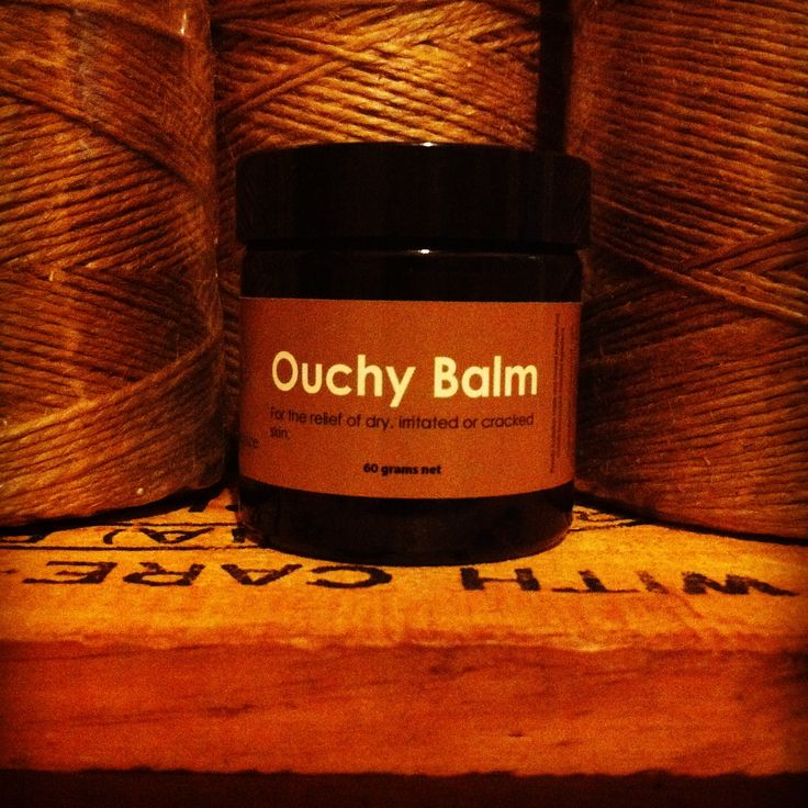 Hand crafted Ouchy Balm for anything that is Ouchy...inspired by Freddy my son