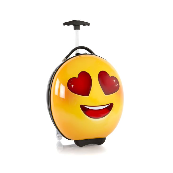 Heys Kids e-Motion Kindertrolley 41 cm 2 Rollen Love #emoji #love #kinderkoffer #kinder