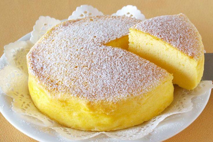 Cheesecake-ul japonez din numai 3 ingrediente a cucerit lumea!