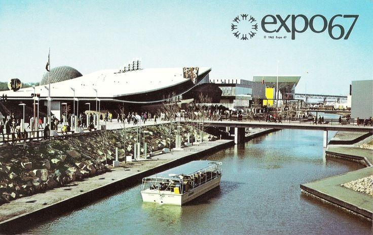EXPO 67 - CARTES POSTALES 2 - CENTRE DE PAIX DE MONTRÉAL
