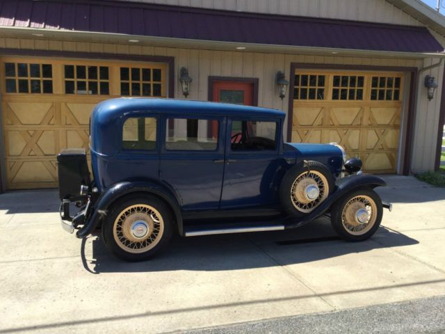 Willys Knight Six Model 87 1931 109 5 In Wb 6 Cylinder