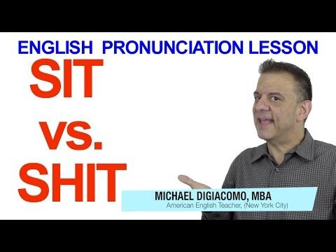 """Did you know that the wrong pronunciation could be dangerous? It's true! One of the dangerously mispronounced words in English is """"SIT."""" Check out today's YouTube lesson to find you why!"""