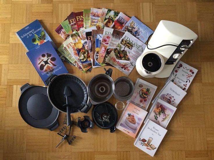 Vorwerk Thermomix TM21 mit Umfangreichen Zubehör und Kochbücher !! in Haushaltsgeräte, Kleingeräte Küche, Rühren, Mixen & Zerkleinern | eBay